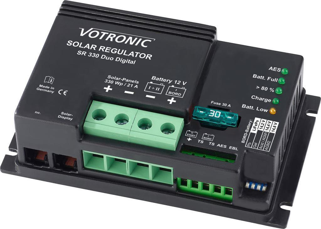Votronic Solar- SR 330 Duo Dig