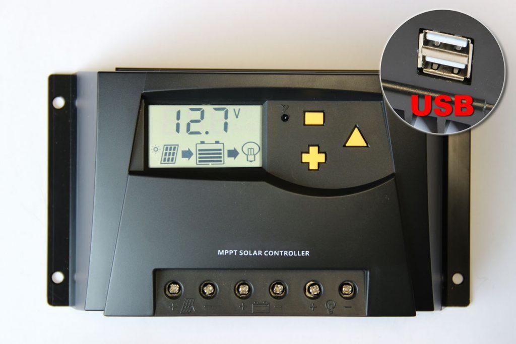 Solar charger-12-24V-20A-MPPT