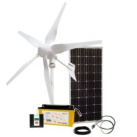 Hybrid solar / wind OFF grid systems