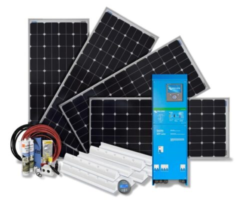 600Wp Solar-Set-EasySolar