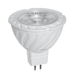 LED spotlight 6W, 12V AC DC, MR16, 2700K-4200K