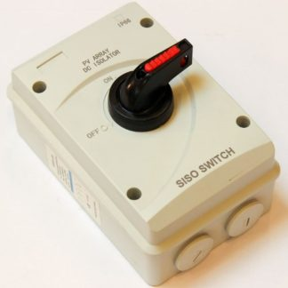Power Switch 63A DC, 1000V with M25