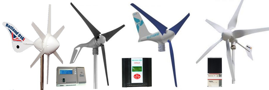 Wind Chargers, Wind Generators, Mountig Kits