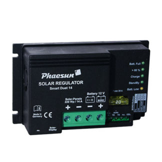 Solar Charge Controller Phaesun Smart Duet 14
