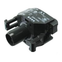 Socket for BA9 bulb - GRAY