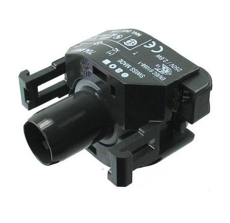 Socket for BA9 bulb - GRAY