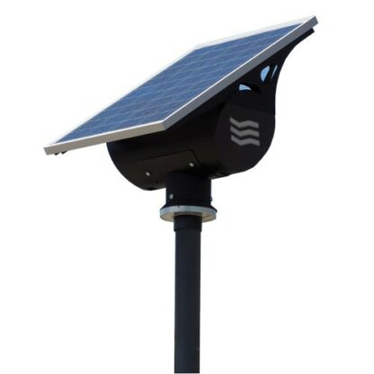 Western Streetlighting Kit Globe Black 30W, 100wp PV module