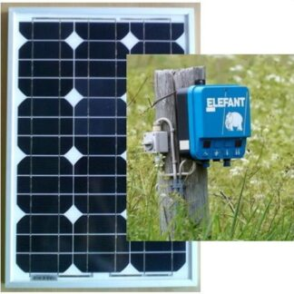 30W Solar Power for Electric Fence