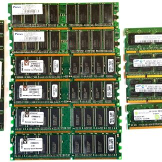 Various RAM modules for PC and Laptop