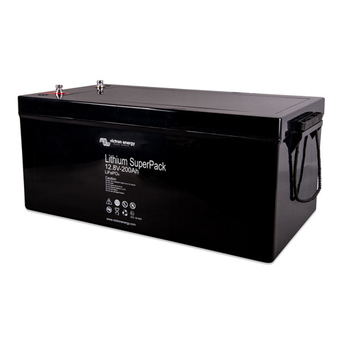 Battery Lithium Victron Superpack 12,8V200Ah (M8)