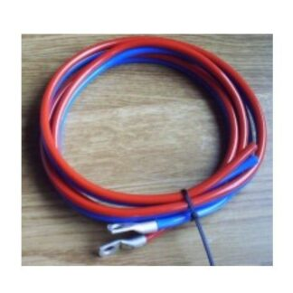 Battery cable 2 x 6mm² - 1.5m, red black