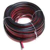 Battery cable red + black Twin