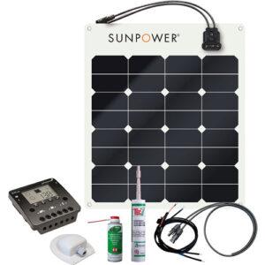 Energy Generation Kit SunPower SPR-E-Flex 50W12V