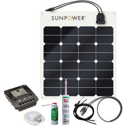 Energy Generation Kit SunPower SPR-E-Flex 50W12V