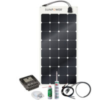 Energy Generation Kit Sunpower SPR-E-Flex 110W12V