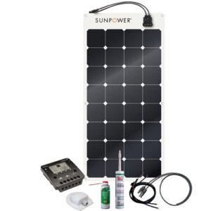 Energy Generation Kit Sunpower SPR-E-Flex 110W12V