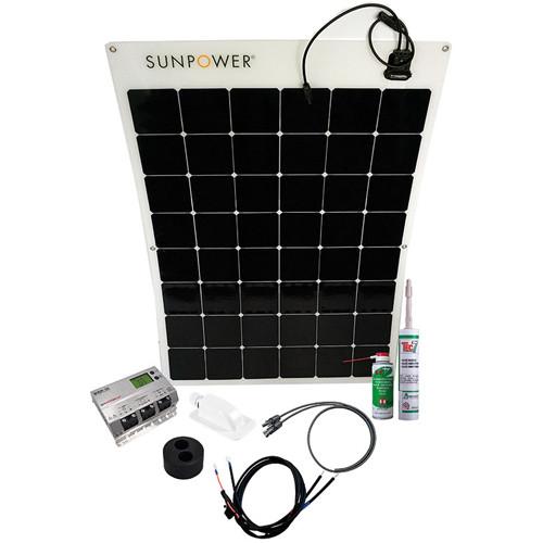 Energy Generation Kit Sunpower SPR-E-Flex 170W_6X8