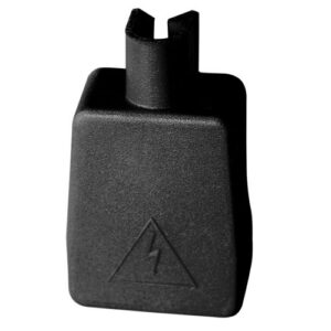 Battery Terminal Insulating Caps Black large