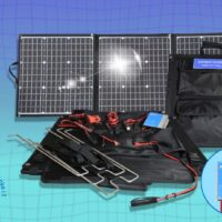 Foldable solar bag EFTE 135W