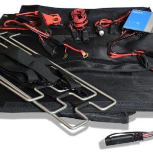 Foldable solar bag EFTE