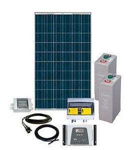 Energy Generation Kit Solar Rise 2,5Kw 48V