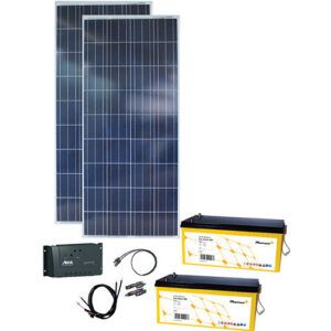 Energy Generation Kit Solar Rise 300W 12V