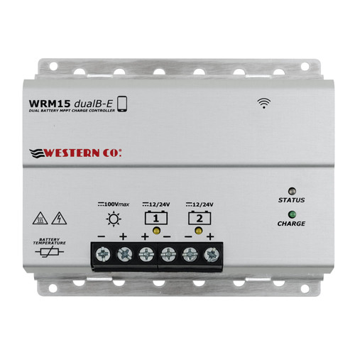 Solar Charge Controller MPPT Western WRM15 Dualb-E