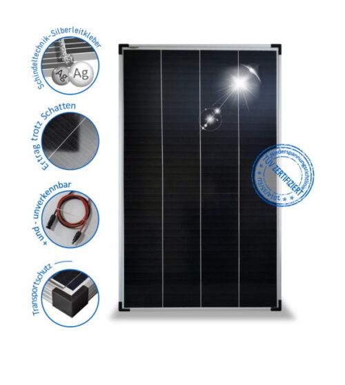 150W24V Solar module PV-150-M-72SH, monocrystalline, Schindel
