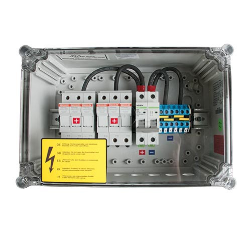 Connection Box GJB 6-1 250V60A_Gland