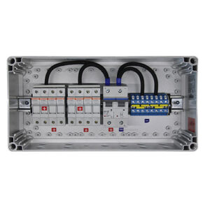 Connection Box GJB 8-1 250V/80A_Gland
