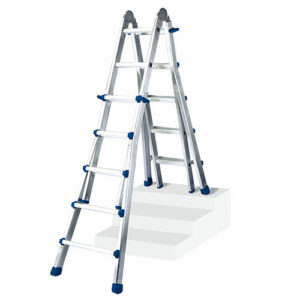 Extension Ladder Aluminium 4 X 4 Rungs