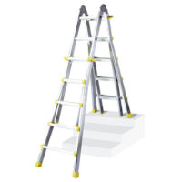 Multi-Purpose Ladder Aluminium 4 X 3 Rungs