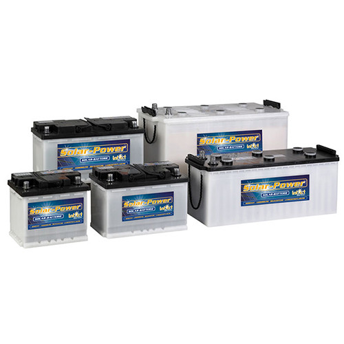Battery Intact Solar-Power 55 TV