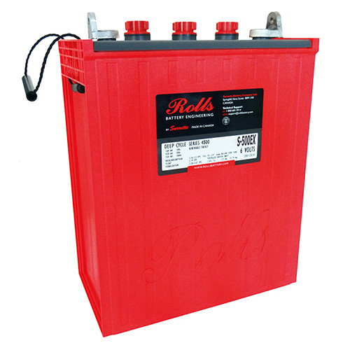 Battery Rolls Solar 4500 S-500EX
