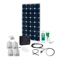 SPR Caravan Kit Solar Peak FOX20 120W 12V
