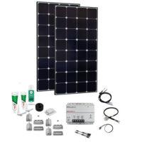 SPR Caravan Kit Solar Peak MPPT DUO 240 W 12V