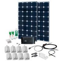 SPR Caravan Kit Solar Peak PRS15 240W 12V