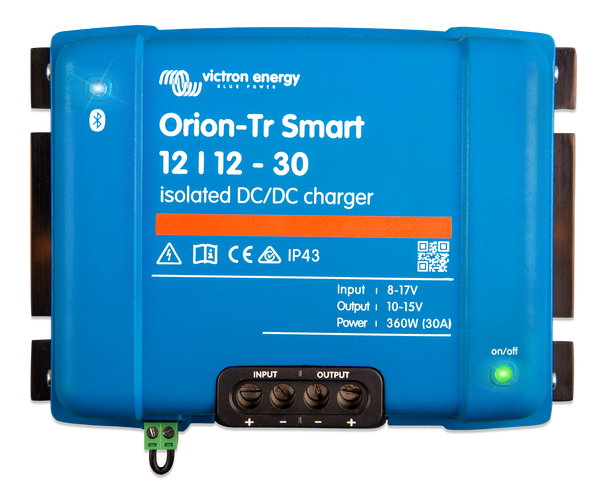 DC DC charger Victron Orion-Tr Smart 12 12-30A (360W), isolated