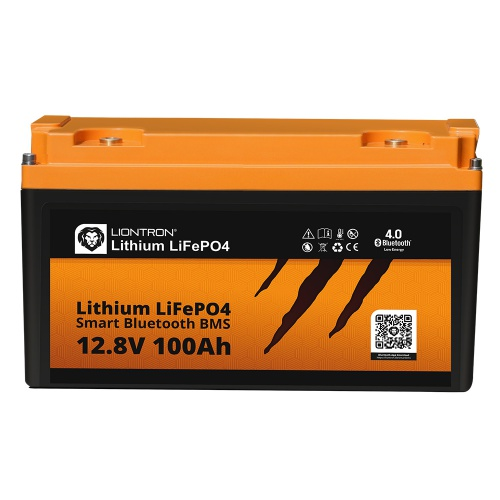 LIONTRON LiFePO4 12.8V 100Ah LX Smart BMS with Bluetooth