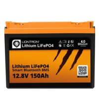 LIONTRON LiFePO4 12.8V 150Ah LX Smart BMS with Bluetooth