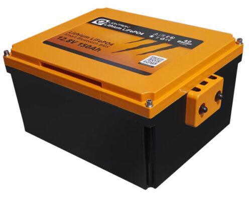 LIONTRON LiFePO4 12.8V 150Ah motorhome seat battery LX Smart BMS with Bluetooth