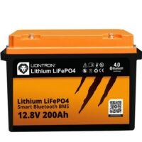 LIONTRON LiFePO4 12.8V 200Ah LX Smart BMS with Bluetooth