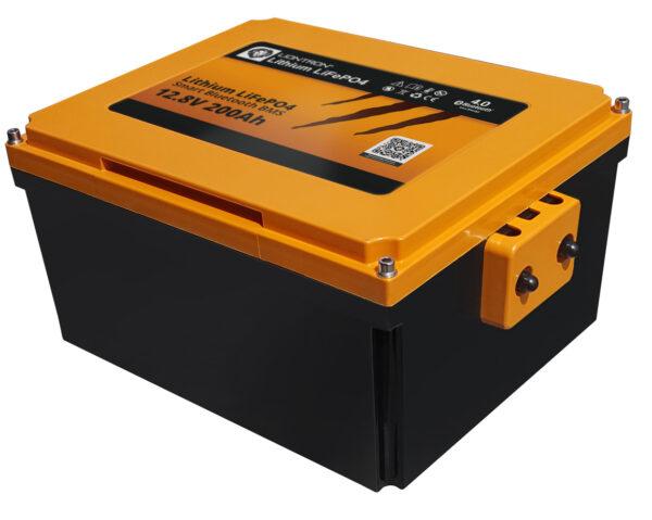 LIONTRON LiFePO4 12.8V 200Ah motorhome seat battery LX Smart BMS with Bluetooth