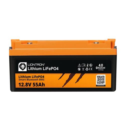LIONTRON LiFePO4 12.8V 55Ah LX Smart BMS with Bluetooth