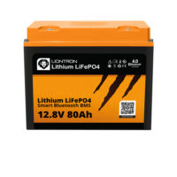 LIONTRON LiFePO4 12.8V 80Ah LX Smart BMS with Bluetooth