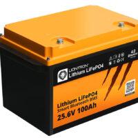 LIONTRON LiFePO4 25.6V 100Ah LX Smart BMS with Bluetooth