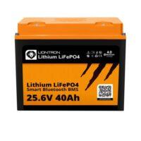 LIONTRON LiFePO4 25.6V 40Ah LX Smart BMS with Bluetooth