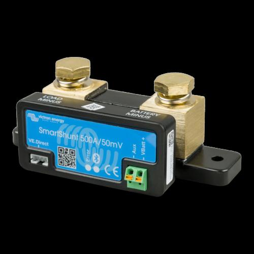 SmartShunt 500A 50mV Victron Energy battery monitor battery computer